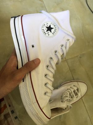 Converse trắng size 44