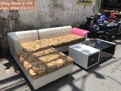 Cần bán Bộ bàn ghế sofa góc L cao cấp giá rẻ