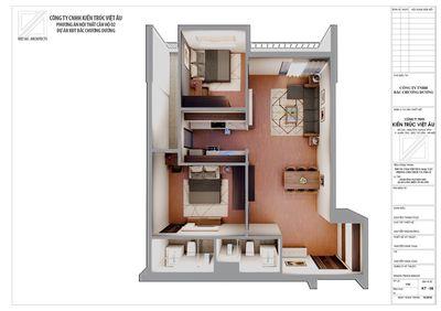 căn 2 phòng ngủ  85m dự án phc complex