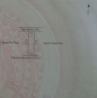 Đất Thổ cư Thái Sơn An Lão 80m²