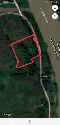 Củ Chi 12.000 m2 Đất mặt tiền sông sài gòn