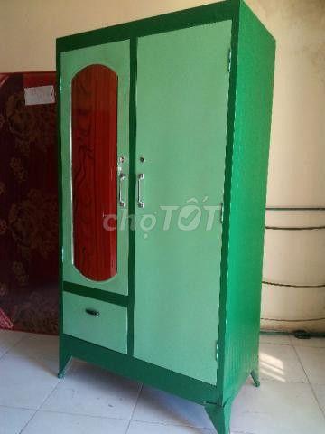 tủ sắt đựng quần áo sơn dầu_MPVC