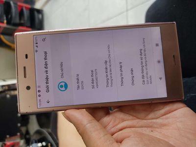 Sony XZ1 au 1 sim màu vàng hồng zin áp, đẹp leng