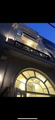 Nhà nở hậu Huỳnh Văn Bánh kiến trúc Pháp đẹp mê ly