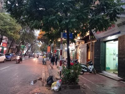 Kinh Doanh, Chu Huy Mân Long Biên 55m2 MTx4.5m 5T