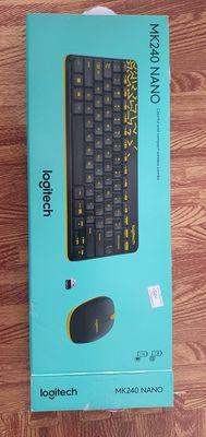 Bán Bộ phím chuột ko dây Logitech MK240 BH 3 năm