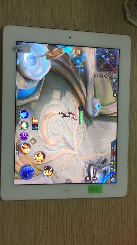 Apple iPad 4 16 GB bản 4G cực ngon.