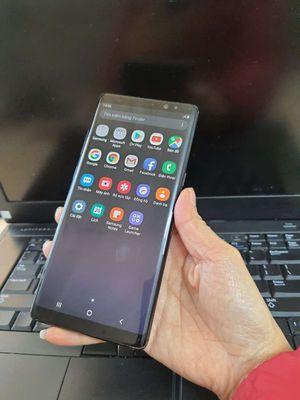 Galaxy Note 8 Đen 2 sim 256gb lưu trữ thoải mái