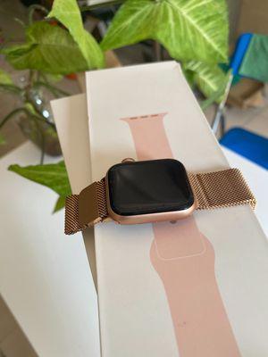 Apple watch seri 4 40mm gold sport band