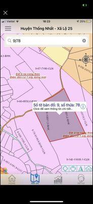 Đất Huyện Thống Nhất Đồng Nai 11.000m²