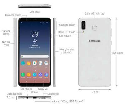 Samsung Galaxy A8 Star Trắng 8 GB