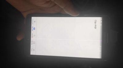 Samsung Galaxy Note 3 Đen sọc chữa cháy ạ
