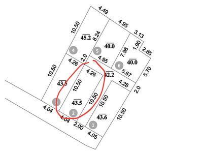 bán nhanh lô góc 2 mặt tiền 43,5m Võng La - ĐA HN
