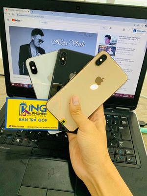 IPHONE SX MAX LOCK 64G KHÔNG DÙNG SIM GHÉP ĐỦ MÀU