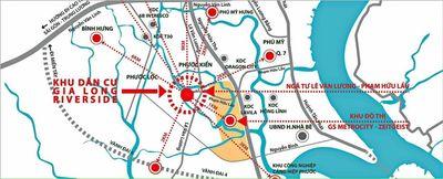 Đất nền có sổ đỏ KDC Gia Long gần GS Phú Mỹ Hưng