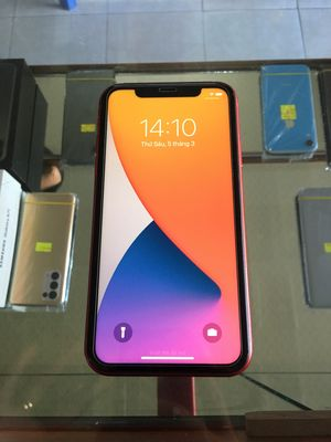 iPhone 11 64GB red Lock Zin Áp Đẹp 99,9%