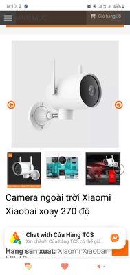 Camera Xiaomi Xiaobai xoay 270 độ (new)