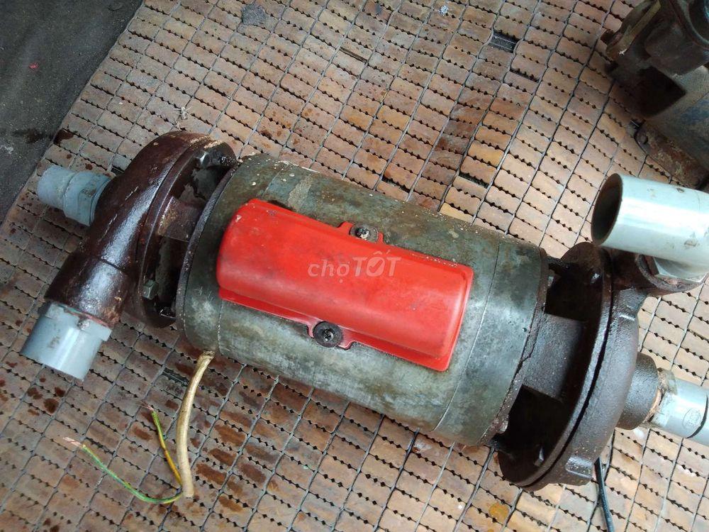 Bán máy motor bơm nước 2 đầu 1,5 HP hai đầu