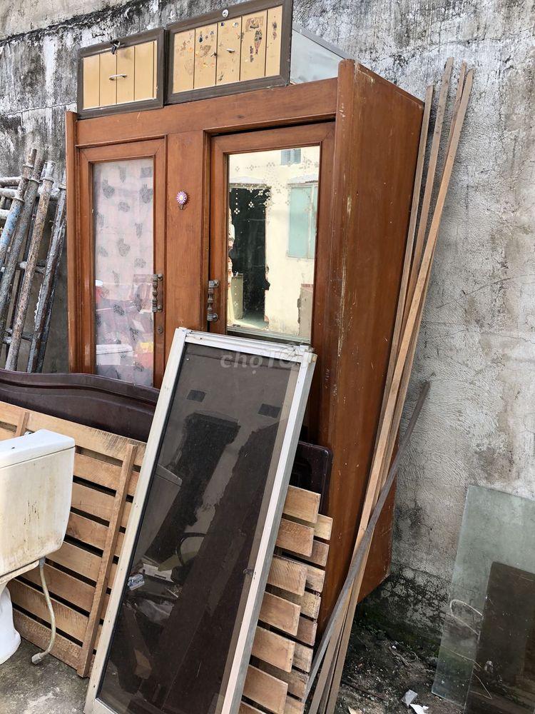 Tủ gỗ cổ giá rẻ bèo