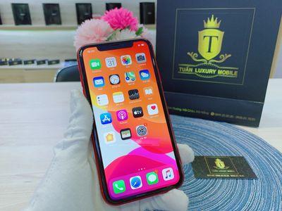 iPhone 11 64G Red 99% Quốc Tế rin Áp BH 6T Trả Góp