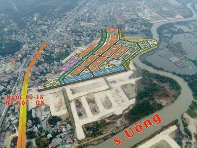 Đất nền Dự án Felicity Uông Bí, QN, từ 11tr/m2