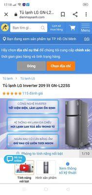 Tủ Lạnh LG 225 lít Inverter
