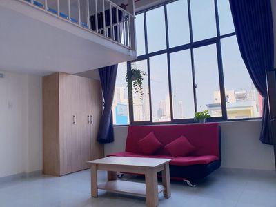 Căn hộ dịch vụ, mini Quận Tân Phú 35m² gác lửng