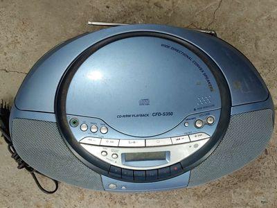 Đài đĩa Sony nghe radio cực êm ,loa trong