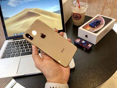 iPhone xs max 64 Gold - Fullbox - còn BH 6T ở TGDD