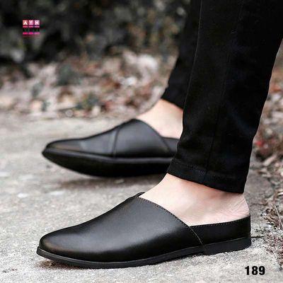 Giày Da Nam mã 189, đen nâu