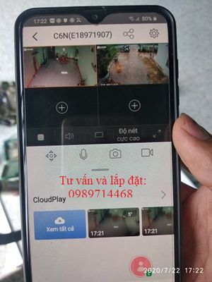 Lắp đặt camera an ninh, camera chống trộm taị GL