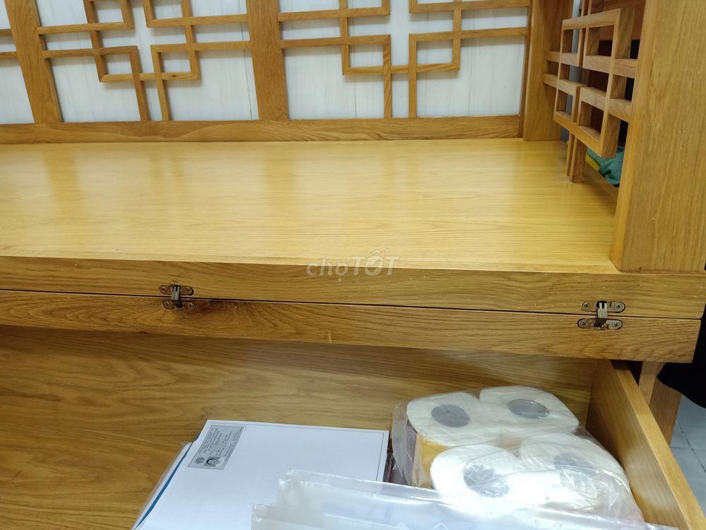 Bán sofa giường 100% gỗ sồi Mỹ 2,2x1,8