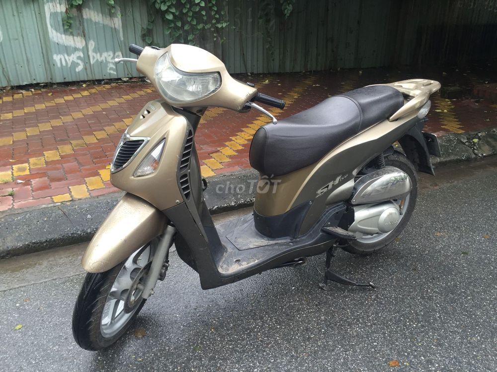 Honda SH chính chủ màu sâm banh-2007