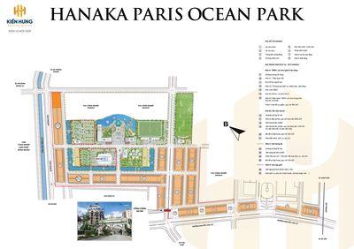 Đầu tư đất nền Hanaka Paris Ocean Park đã có sổ