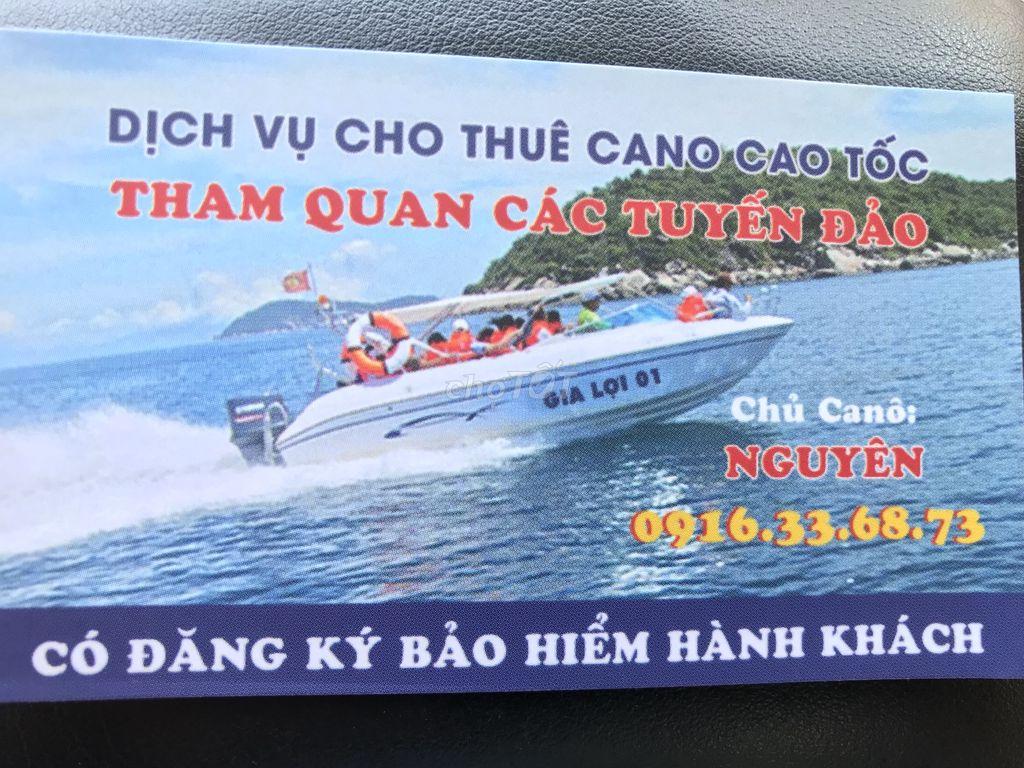 Tour đảo vịnh Nha Trang