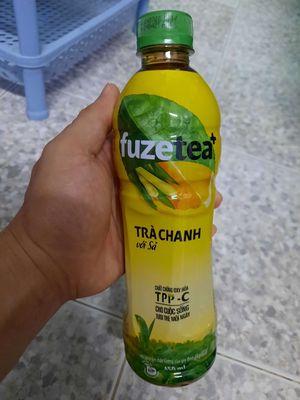 Trà chanh sả Fuzetea, chai 450ml của Cocacola