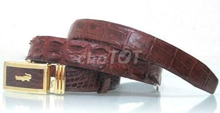 0904959527 - Dây nịt, thắt lưng cá sấu uyên leather