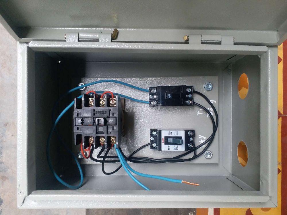 Nhận lắp tủ điện cho máy bơm nước