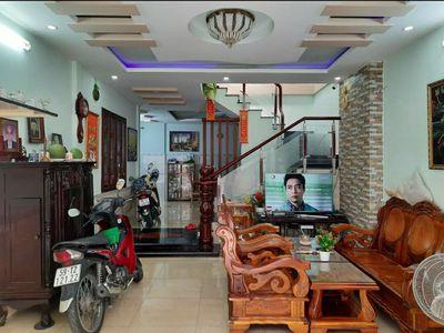 Nhà hẻm Oto Quang Trung-P8. Dt 5x14: T-Lững-Lầu