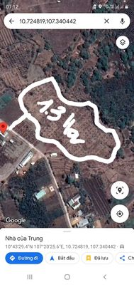 Đất Lâm San Huyện Cẩm Mỹ 12.870m2 đường Betong
