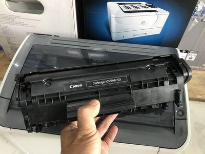 Canon LBP 2900 in đẹp, mực, cáp đủ!