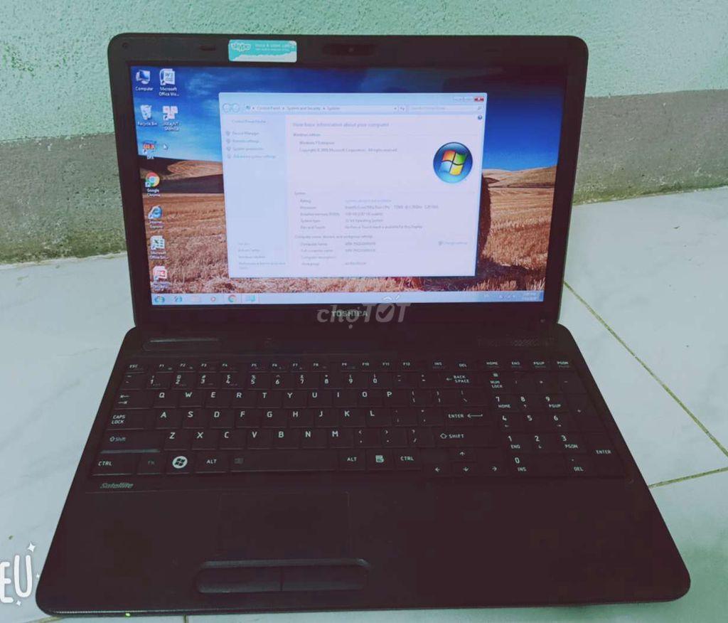0927879697 - Cần bán laptop toshiba,máy đẹp, mượt mà