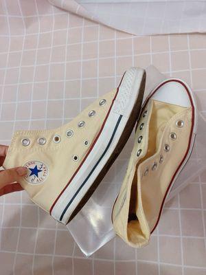 Giày converse cổ cao ,size 38 có fix