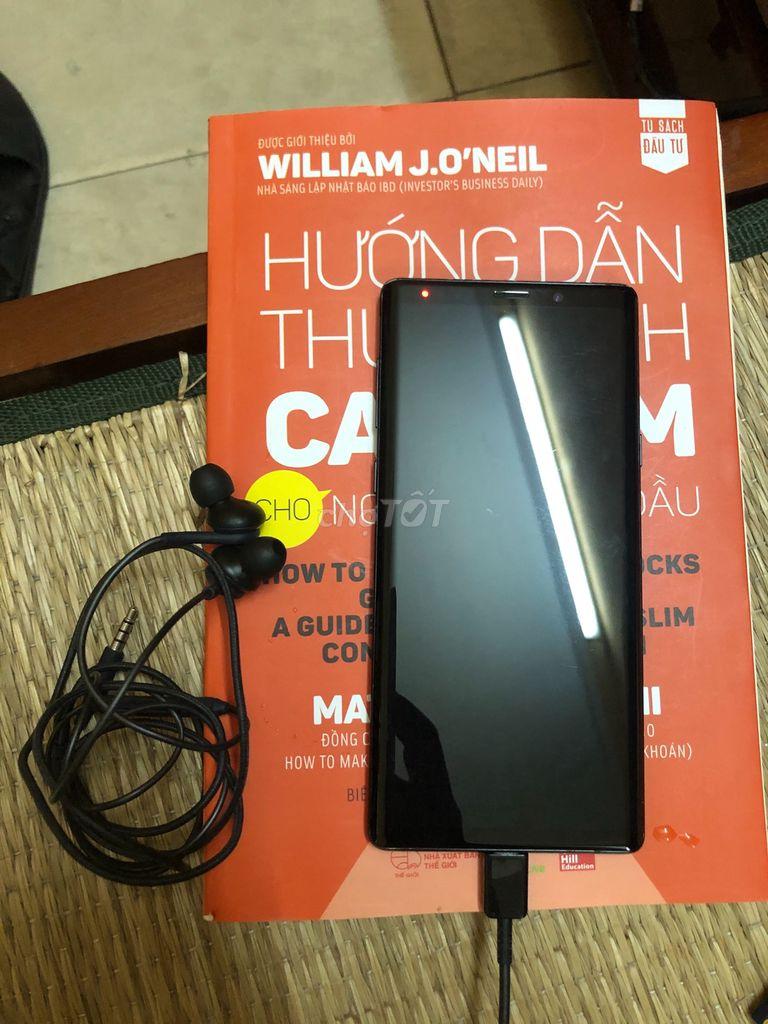 Samsung Galaxy Note 9 đen bóng bản Hàn quốc