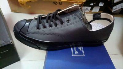 Giày converse jackpurcell chống nước đen real new