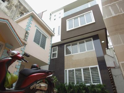 Nhà đẹp 4 tầng dân xây 54m2 tại phố Lê Quýnh
