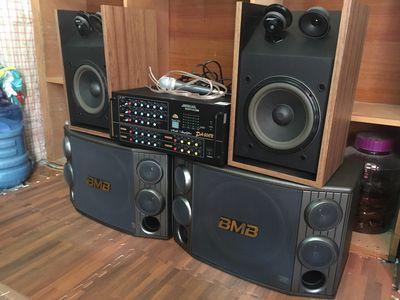 Dàn karaoke Hàn Quốc ! BMB 2000!Bose 301!Âmli 506N