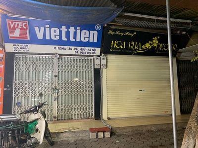 Mặt bằng kinh doanh mặt đường Nghĩa Tân HQV