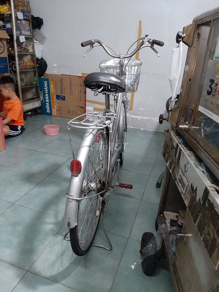 bán xe đạp gia đình sử dụng trước giờ