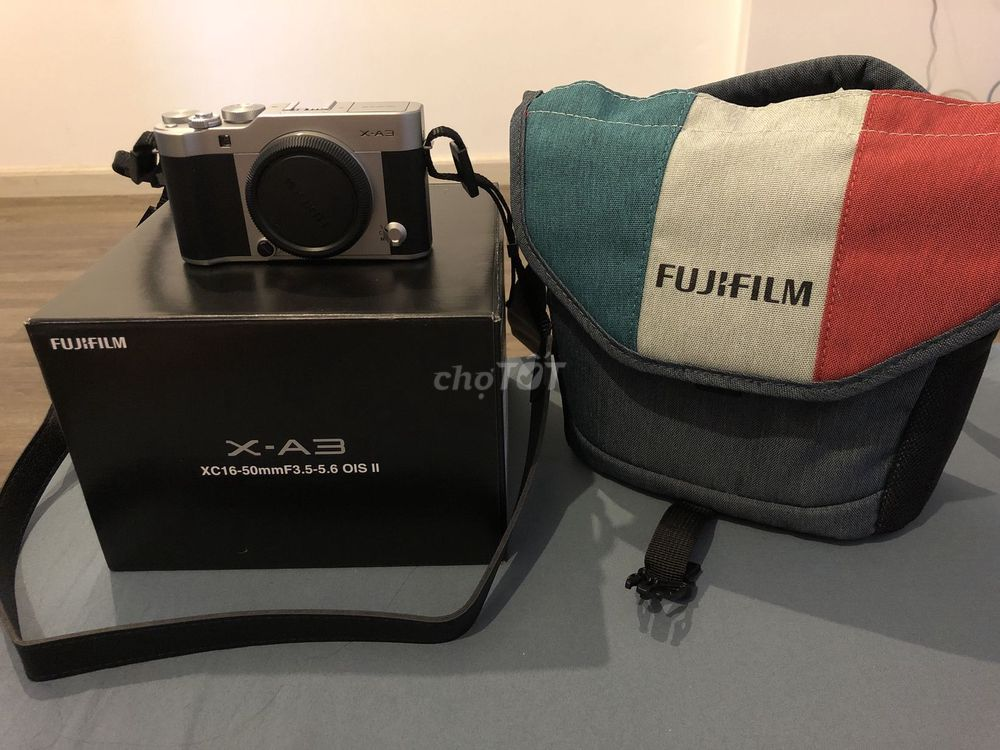 Fujifilm X-A3 16-50mm mua tháng 6/2019